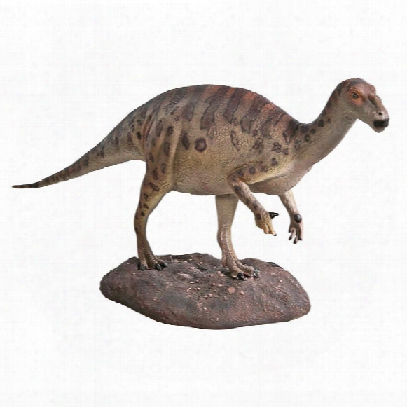 Hypsilophodont Scaled Dinosaur Statue
