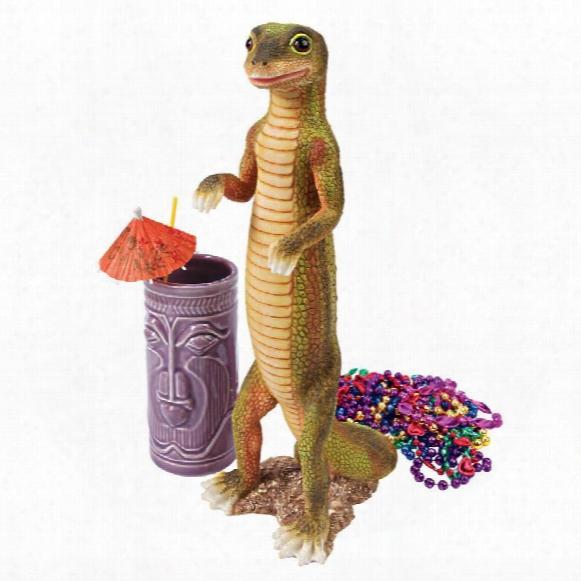 """Jo Jo, The Gecko"""" Statue: Set Of Two"""