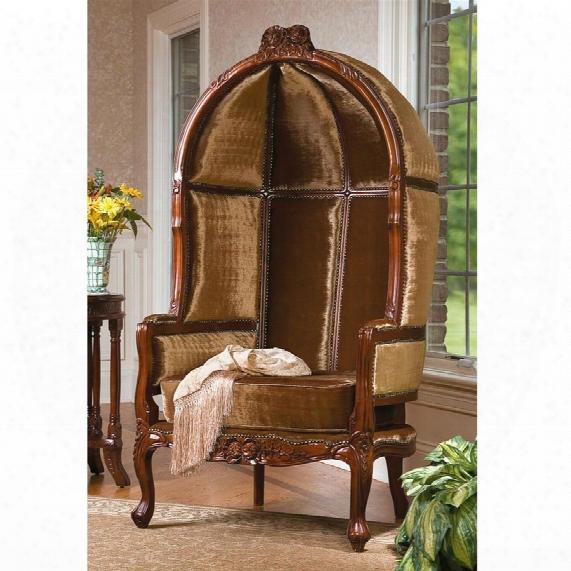Lady Alcott Victorian Balloon Chair