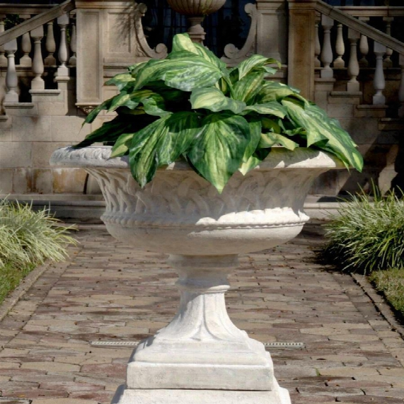 Larkin Arts And Crafts Architectural Garden Urn Statue