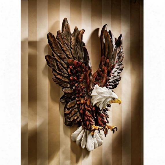 Liberty's Flight Eagle Wall Sculpture