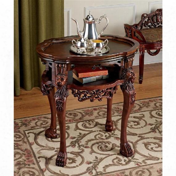 Lord Raffles Lion Tea Table