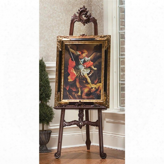 Louis Xv Fine Art Carved Display Easel