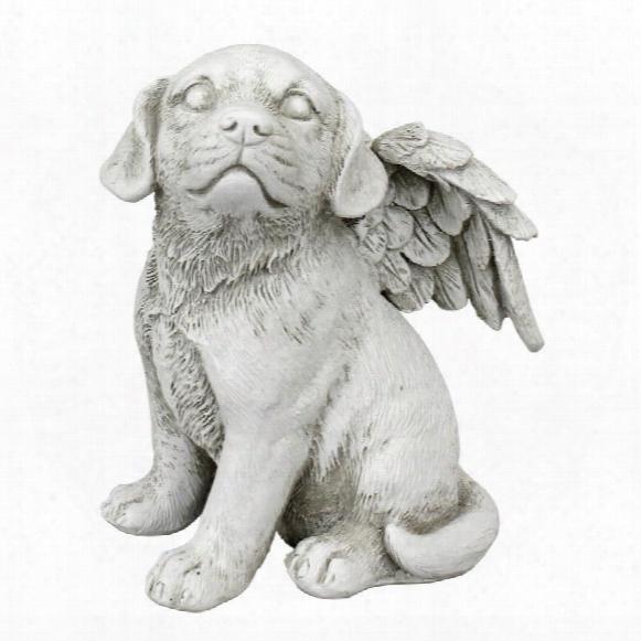 Loving Friend, Memorial Pet Dog Statue: Medium