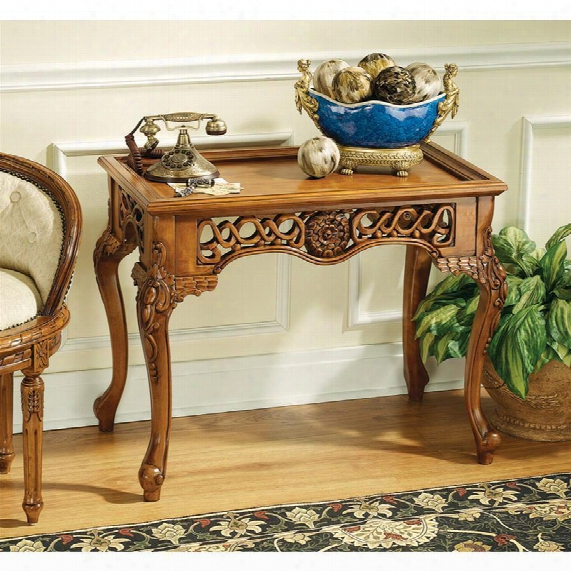 Mallory Court Filigrer Console Table