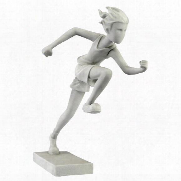 "Marathon Man"" Athlete Runner Statue"