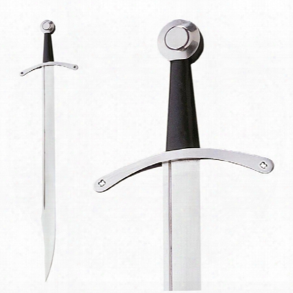 Medieval Falchion Sword: Sharpened