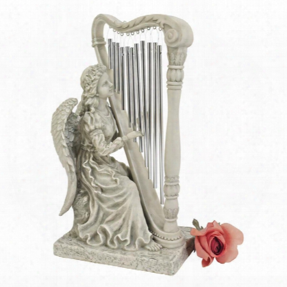 Music From Heaven Angel Statue: Small