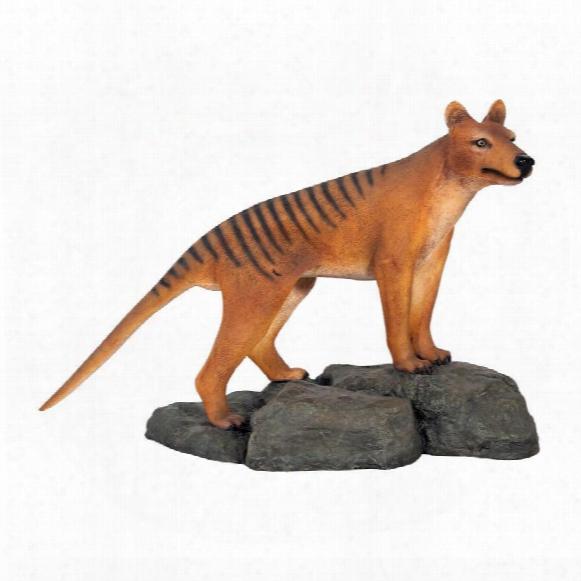 Mysterious Tasmanian Tiger Statue