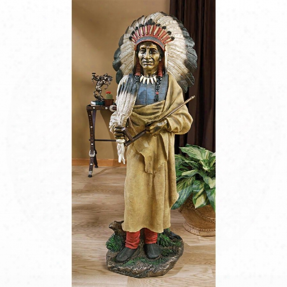 Native American Indian Spirit Chief Statue