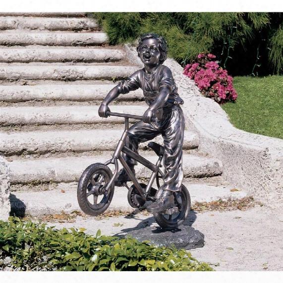 Out For A Ride Garden Sculpture