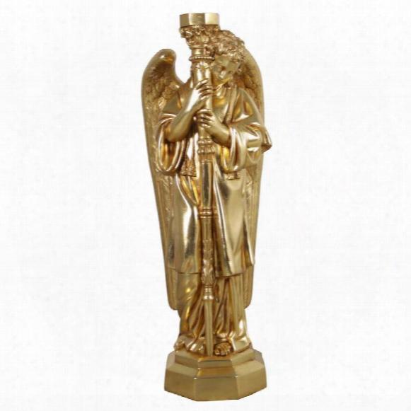 Padova Golden Guardian Angel Sculpture: Right