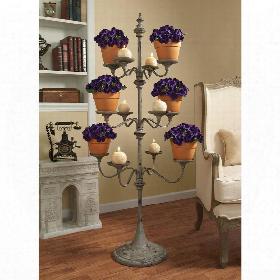 Pembrook Candelier Tree Metal Display Stand