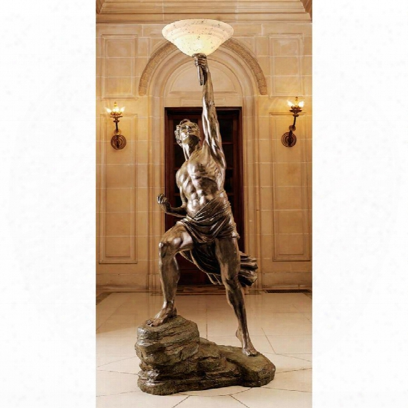 Prometheus Sculptural Floor Lamp