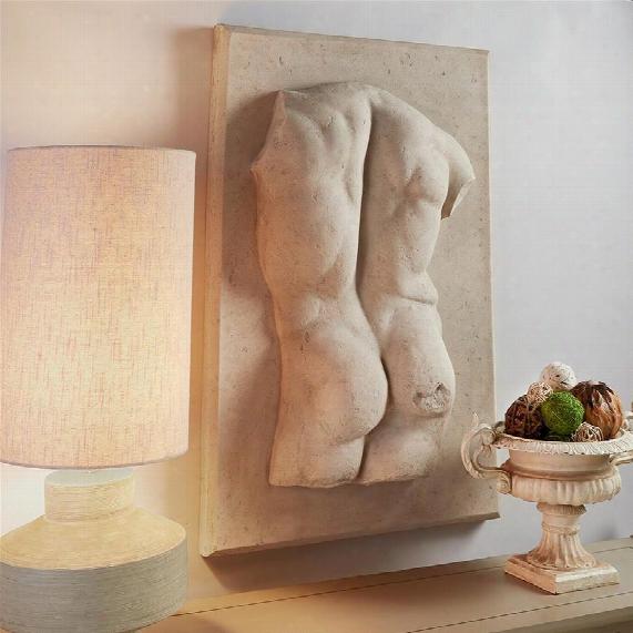 Proper Back Classic Greek Torso Wall Sculpture