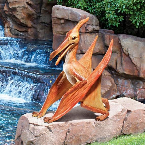 Pterodactyl Statue