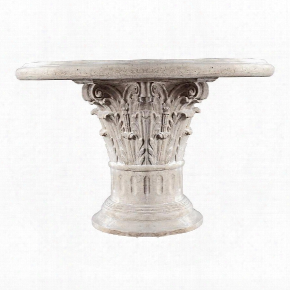 Roman Corinthian Capital Architectural Table