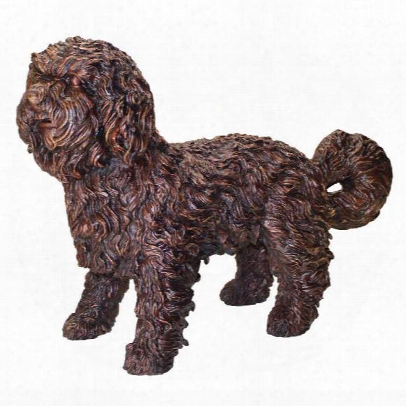 Rusty, The Dog Cast Bronze Garden Statue