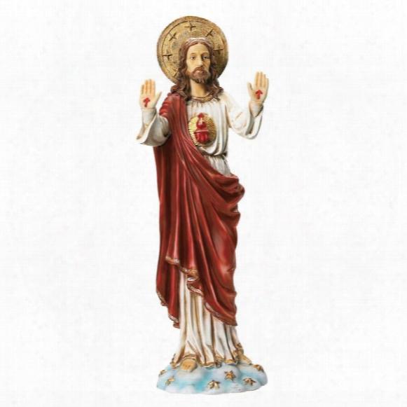 Sacred Heart Of Jesus Italian-style Garden Statue
