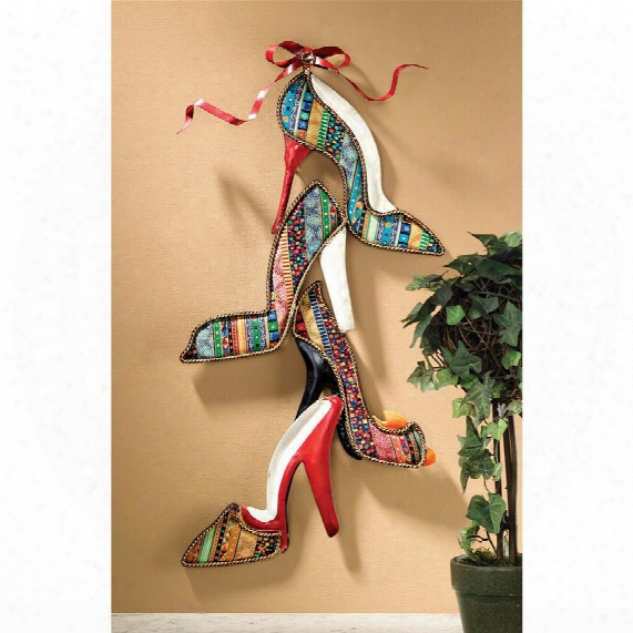 Shoe Couture Wall Sculpture