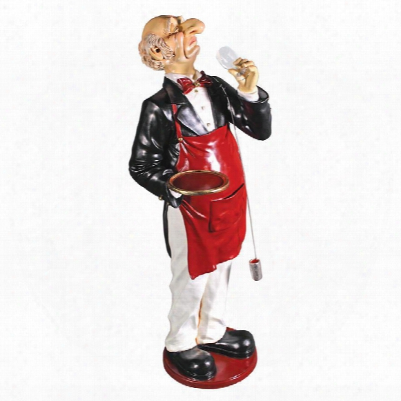 Sir Sommelier: Grand-scale Wine Connoisseur Statue