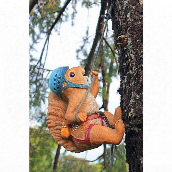 Skyler, The Climbing Squirrel Statue