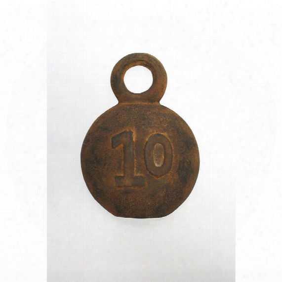 Strongmen Number 10 Cast Iron Industrial Weight