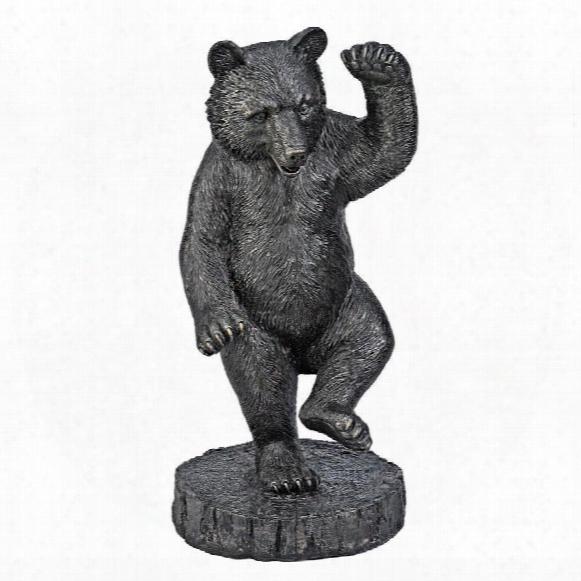 The Bear Dance Garden Statue