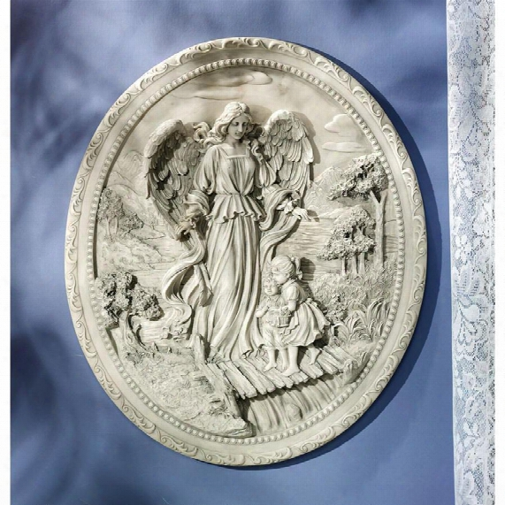 The Childrens Guardian Angel Wall Plaque