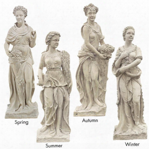 The Four Goddesses Of The Seasons Statue: All Four Seasons (statue Only)