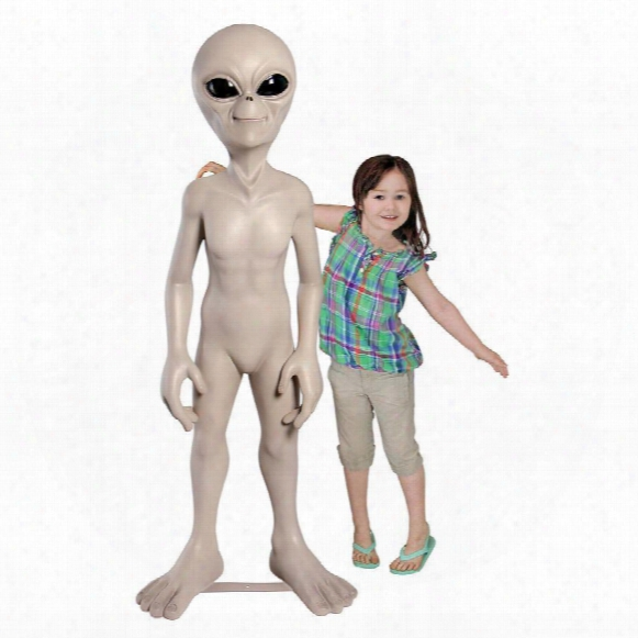 "The Out-of-this-world Alien Extra Terrestrial"" Statue: Giant"