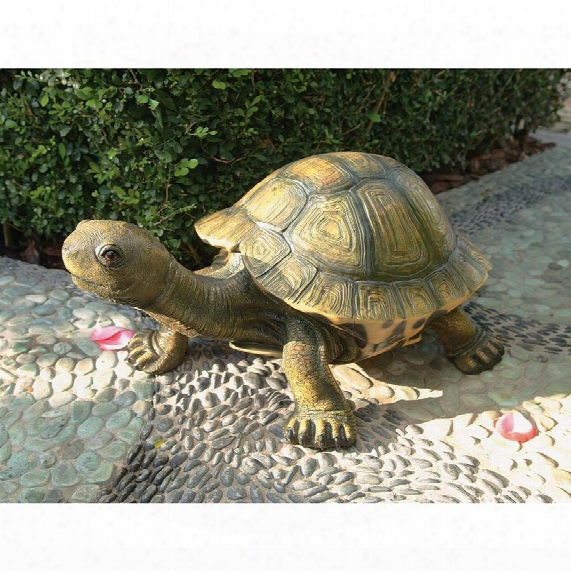 The Tranquil Tortoise Garden Sculpture: Large