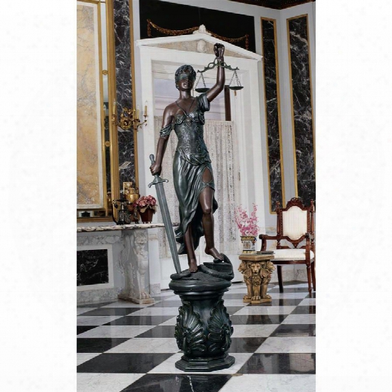 Themis, Goddess Of Justice Sculpture: Grande
