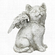 Loving Friend, Memorial Pet Cat Statue: Medium