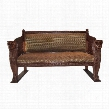 The Lord Raffles Winged Lion Settee Bench