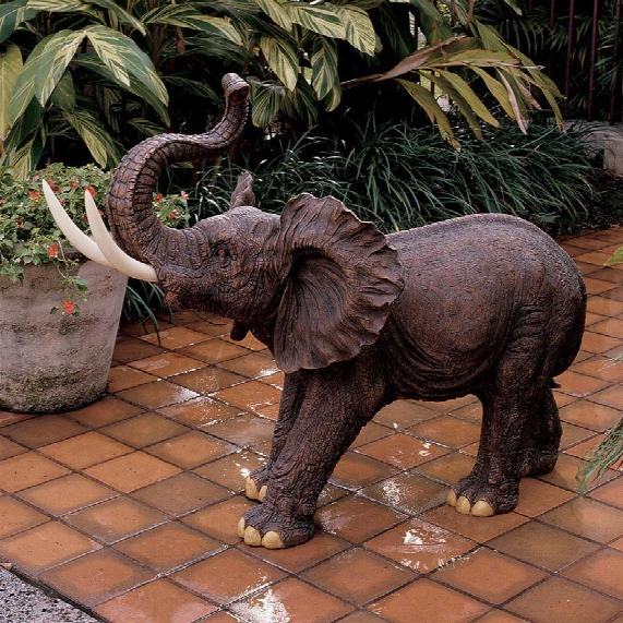 Triumphant Entry Elephant Sculpture