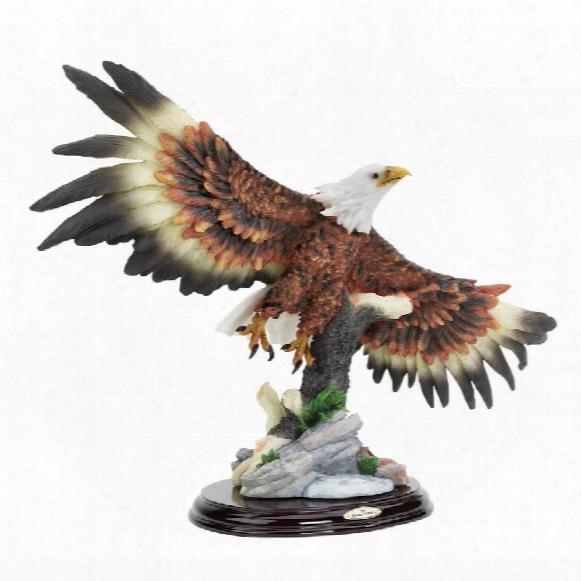 Wingspan Bald Eagle Statue