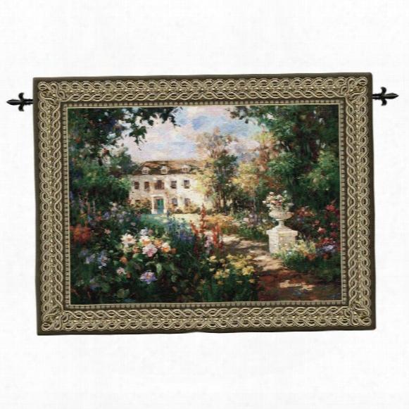 Aix En Provence Landscape Wall Tapestry: Large