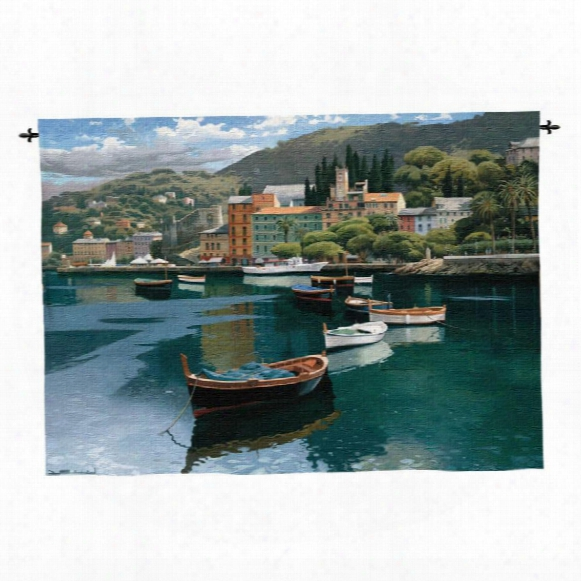 Before The Rain Landscape Wall Tapestry