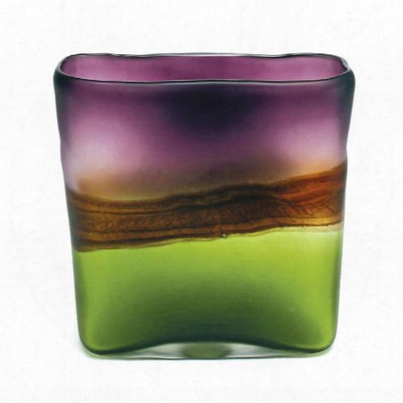 """Bimisi 8"""" Glass Vase"""