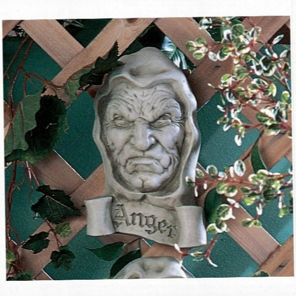 Cardinal Sin Of Anger Plaque