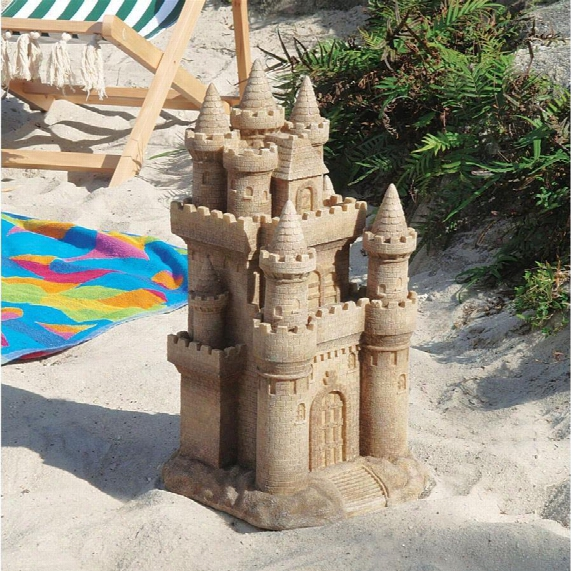Castle By The Sea Sculptture