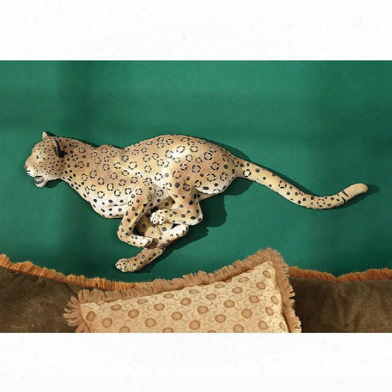 Charging Cheetah Wall Frieze