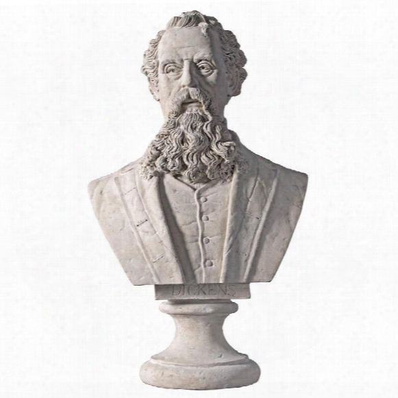 Charles Dickens Sculptural Bust
