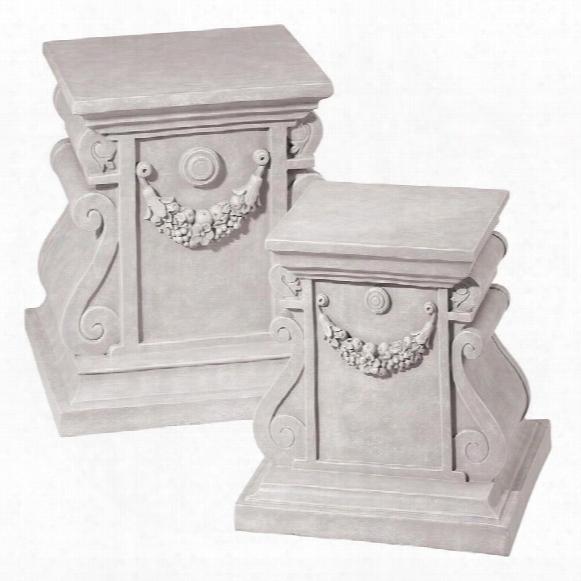 Classic Statuary Plinth Base: Large