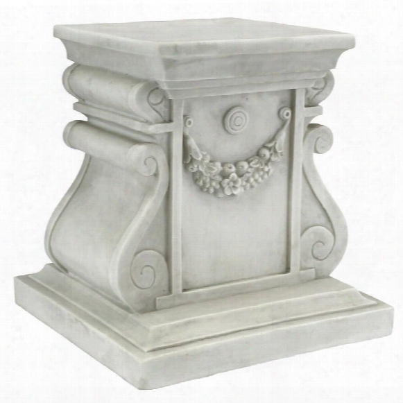 Classic Statuary Plinth Base: Medium