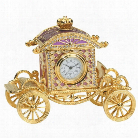 Collectible Renaissance Carriage Box