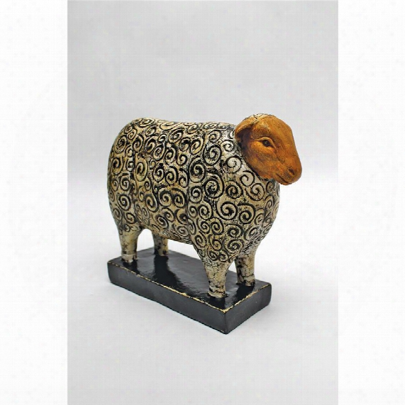 Contemporary Sheep Statue