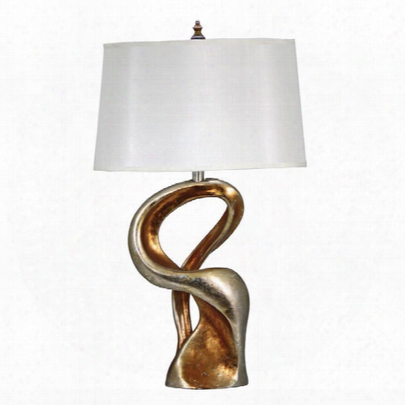 Cosmic Sweep Contemporary Table Lamp