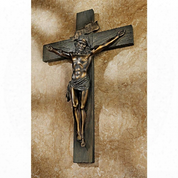 Crucifixion Cross Of Jesus Christ Wall Sculpture